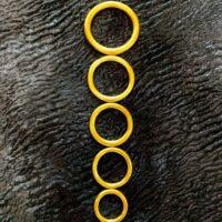 Латунные кольца